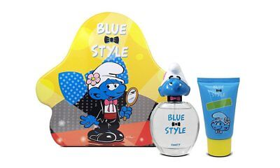 The Smurfs Blue Style Vanity 3D Eau de Toilette/Shower Gel Gift Set