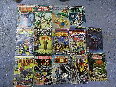 G2c Lot of 14 DC / MARVEL Comics 1960's,70's,80's,90's Kid Colt Wolverine Cage