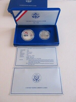 1986 United States Liberty Coins 1886-1986 Proof Set