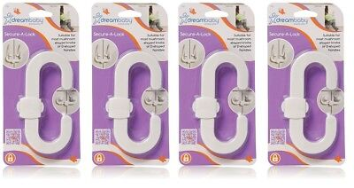 Dreambaby Secure-A-Lock - 4 Count