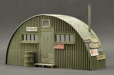 DioDump DD117 Nissen hut 1:35 scale - multimedia military diorama building