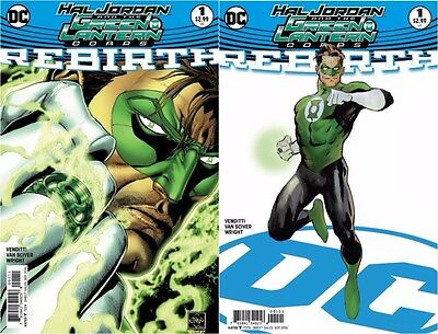 DC Hal Jordan & The Green Lantern Corps Rebirth #1 + Variant! First Printing