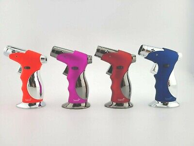 Scorch Refillable 4 Frames Torch Lighter Easy Soft Ignition