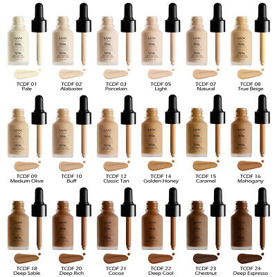"1 NYX Total Control Drop Foundation - Matte ""Pick Your 1 Color""*Joy's cosmetics*"