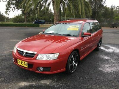 2004 Holden Commodore VZ Acclaim Red Automatic A Wagon