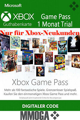 Xbox Game Pass 1 Monat Mitgliedschaft Code - Xbox Live Download Key Xbox One 360