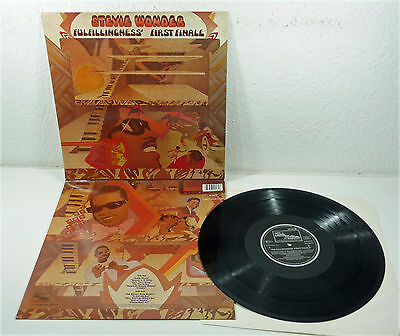 "STEVIE WONDER ""Fulfillingness First Finale"" NM Tamla Motown re LP 70s Soul 80s"