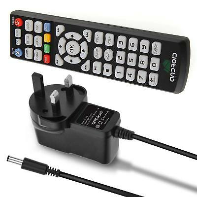 Remote Control for MX MX2 M8 M8S XBMC Android TV Box With Free Power  adapter UK