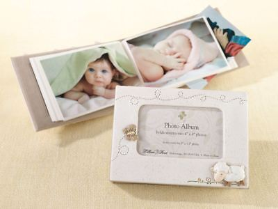 Little Lamb Picture Photo Album Baby Showers Christening Gifts