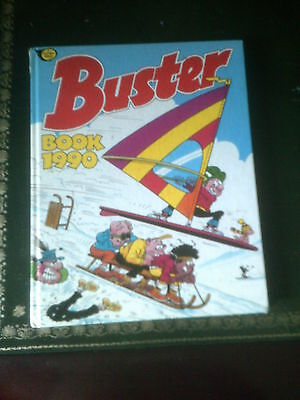 Buster Book 1990, Published 1989, UK Annual, Vintage Buster Book