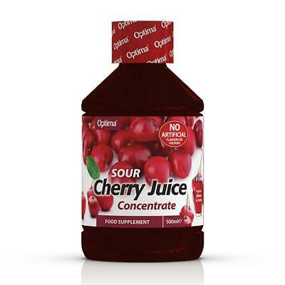 1 Bottle of Optima Montmorency Cherry Juice Super Concentrate Active Live 500ml