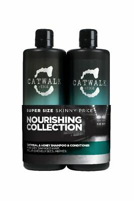 TIGI Catwalk Oatmeal & Honey Shampoo und Conditioner Tween Duo 2x750 ml
