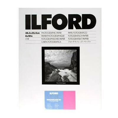 "Ilford Multigrade RC Cooltone VC BW Enlarging Paper, Glossy, 8x10"" - 100 Sheets"