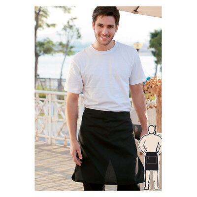 Cotton Drill Half Apron with Pocket Hospitality For Waiter Waitress Chef Cooking