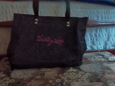 Thirty-one Black Cindy Tote