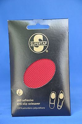Woman's High Heel Shoe Sole Gripper-Protector-Louboutin Red-Self Adhesive