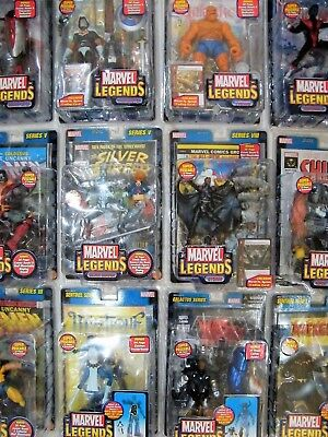 """Toy Biz Marvel Legends - Super Poseable 6"""" Figures - Some Rare - See Photos!"""
