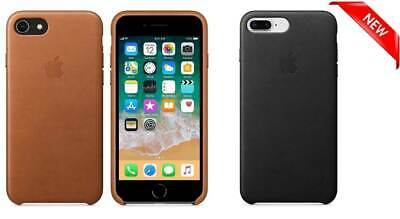 NEW Apple Leather Cover Case for iPhone 6Plus and 6SPlus Black/Saddle Brown/Blue