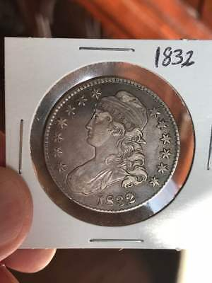 1832 Capped Bust Half Dollar Beautiful coin! Uncertified.