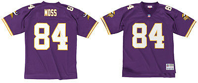 finest selection 0e8ce e138d RANDY MOSS MINNESOTA Vikings #84 Mitchell & Ness 1998 Rookie Authentic  Jersey