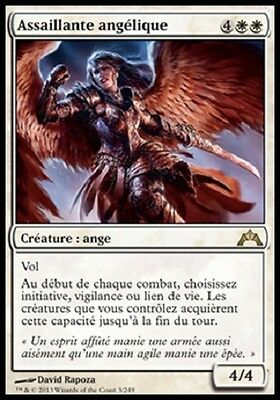 *CARTAPAPA* MAGIC MTG. Assaillante Angelique / Angelic Skimirsher. INSURRECTION