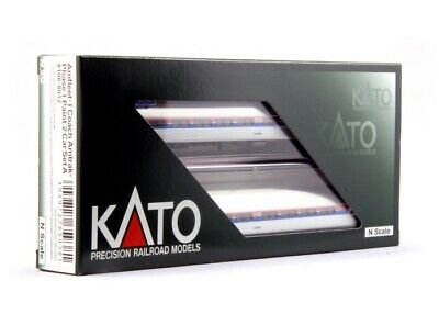 NEW Kato Rolling Stock Amfleet I Phase I 2-Car Set A N Scale KAT1068012