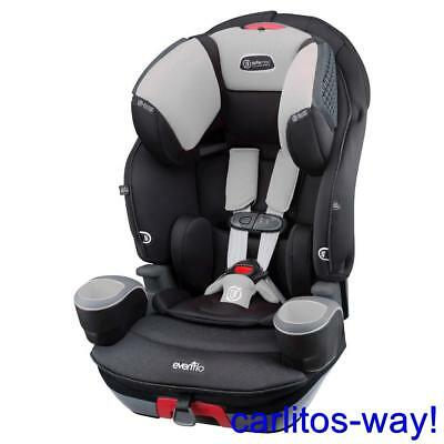 Evenflo Safemax Car Seat 3 In 1 Shiloh New Booster Seat Cup Holders
