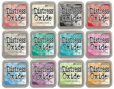 Tim Holtz Distress Oxide Ink Pads - 12 Colours - Release 2 - FAST 'N FREE