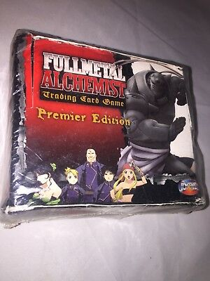 Fullmetal Alchemist Trading Card Game Premier Edition -30 Booster Packs -SEALED!