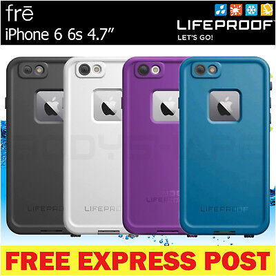 """LifeProof Fre iPhone 6 6s 4.7"""" Waterproof Shock Snow Dust Tough Case Cover for"""