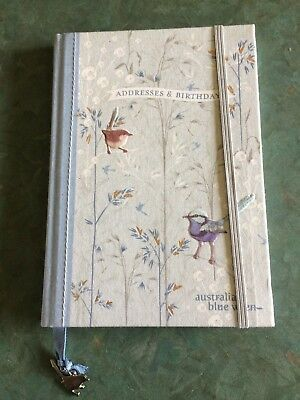 Australian Blue Wren Address Book