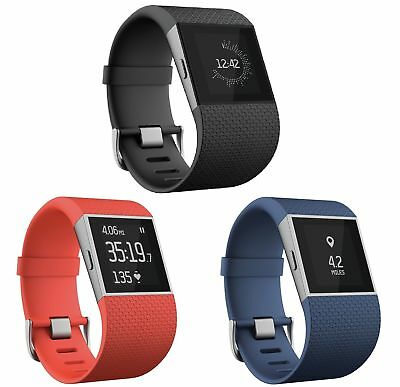 FitBit Surge Activity Tracker Wristband - Choice of Size and Colour - From Argos
