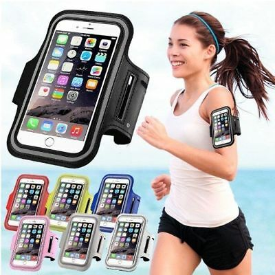 For iPhone X 8 6 6S 7 Plus Sport Running Armband Jogging Gym Arm Band Pouch Bag