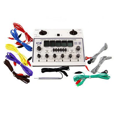 Electric Acupuncture Stimulator Machine 6 Output Patch Massager Care KWD808-I AU