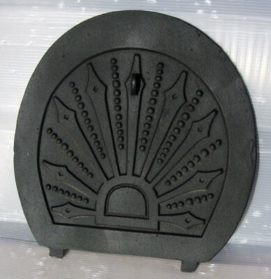 Reclaimed Restored Viintage Cast Iron Arch Fireplace Spare Parts:Rear Draw Plate