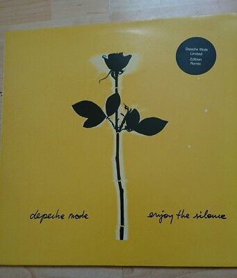 "Depeche Mode  ENJOY THE SILENCE limited Edition 12"" Vinyl Single L12Bong18"