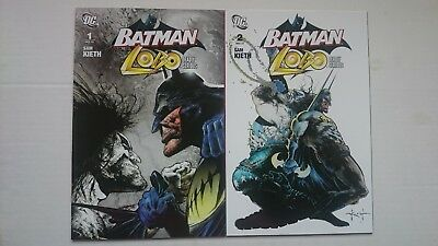 Batman / Lobo # 1 & # 2  Set  Nm+   1St Print  2007