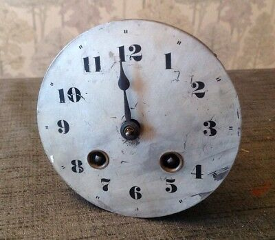 HAC German Mantle Clock Movement Chiming 95mm Diameter. Face 107mm Diam.