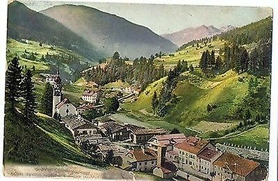 A 60 - Gries am Brenner, Totale, 1909 gelaufen, color