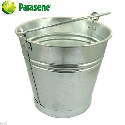 Large Heavy Duty 16L Galvanised Steel Bucket Ash Coal Fire Water Sand Feed