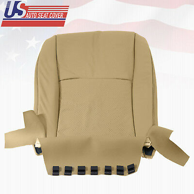 2005 Toyota Highlander Driver Bottom Replacement Seat Cover Perforated Leather
