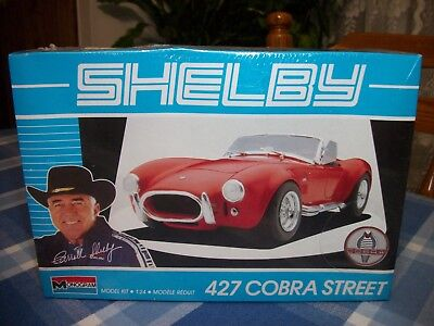 1965 Shelby A/c 427 Cobra Street - Monogram #2798 - 1/24 Scale - Factory Sealed
