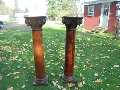 Antique  Pillars Columns Vintage Architectural Salvage Posts