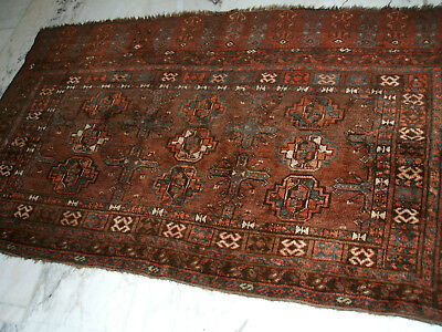 Old Afghan Chuval Bag Rug Afghanistan Tschowal Tasche  Tapis Vieux Afghane