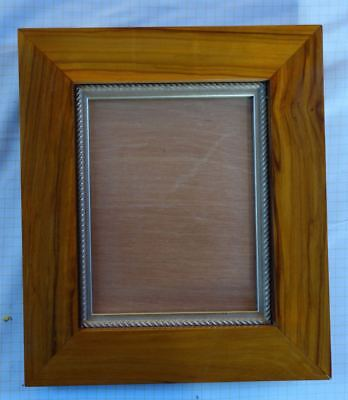 Olive wood hand made picture frame