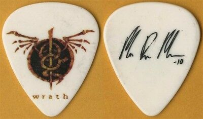 Lamb of God Mark Morton authentic stage 2010 Wrath tour signature Guitar Pick