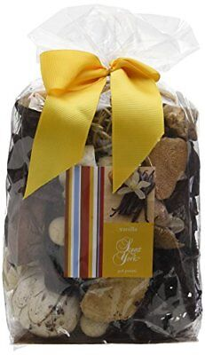 Scent of York sybbv Big Bag Pot Pourri vaniglia Pot Pourri Giallo 16 x (e4v)