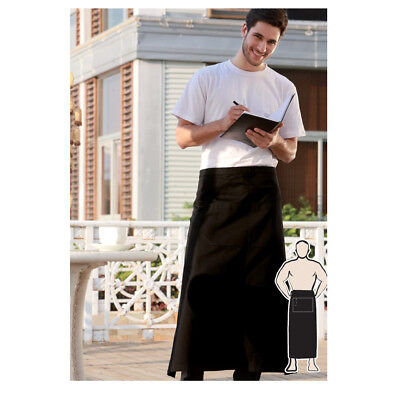 Hospitality Light Weight Continental Apron W/ Pocket Cooker Chef Waiter barista