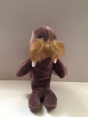 TY Beanie Babies Collection - JOLLY THE WALRUS - RETIRED NEW!