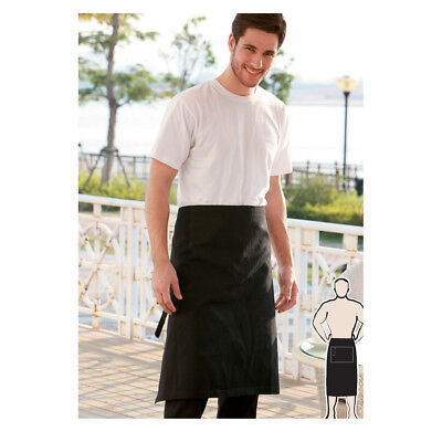 Light Weight 3/4 3 Quarter Hospitality Apron Barista Chef BBQ Cooker Waiter ress